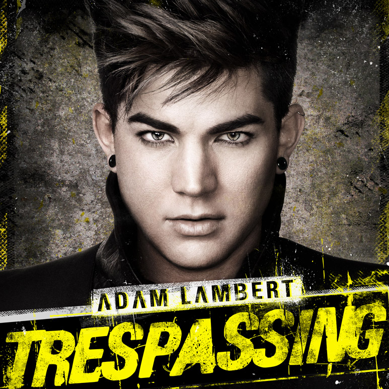 Adam Lambert Trespassing Album Cover Trespassing Album Cover by Lee
